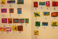 alphabet arts plastiques ecole maternelle