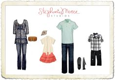 Family Picture Ideas What to Wear | What to Wear « Tucson Family, Baby, Senior Photographer – Stephanie ...