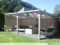 Outdoor Pergola, Backyard Pergola, Outdoor Spaces, Gazebo, Outdoor Living, Outdoor Decor, Summer House Interiors, Pool House Designs, Exterior Design