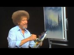 Join television artist Bob Ross and take a peek through the fog of a snowy morning as the awakening sun enters into a new day. Season 27 of The Joy of Painti. Oil Painting Lessons, Painting Techniques, Painting Tips, Painting Tutorials, Art Tutorials, Bob Ross Painting Videos, Bob Ross Paintings, Oil Paintings, Bob Ross Episodes
