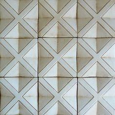 Tabarka Studio Noblesse 4 - the coolest tile Possibly for Scott's bar?