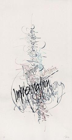 Berliner Sammlung Kalligraphie: Gottfried Pott