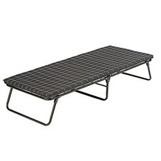 Coleman ComfortSmart Cot Deluxe – With Mattress The Coleman ComfortSmart Cot Deluxe is one of the most popular foldable camping cots on the market, with sturdy steel construction, mattress, and the price tag hard to match. #ColemanComfortSmartDeluxeCot, #ColemanCots