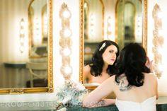 Tattooed bride.