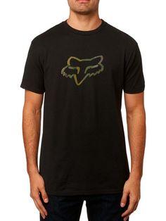 Fox Racing Men's Legacy Fox Head Short Sleeve T-shirt Motocross T Shirts, Fox Head, Legacy Collection, Fox Racing, All Brands, Soft Hands, Soft Fabrics, Tee Shirts, Short Sleeves