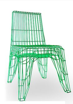 Wire-frame chair by @OOOMS.