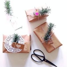 Paper Cotton Love - Ways to Wrap a Gift - The Stylist Splash