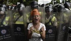 המחאה ברחובות קראקאס