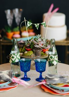 Bohemian party ideas | photos by Christine McGuigan | 100 Layer Cake