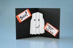 Halloween basteln Einladung