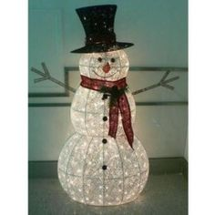 Gold Light Up Snowman #DunelmPinterWonderland #Christmas #Comp ...