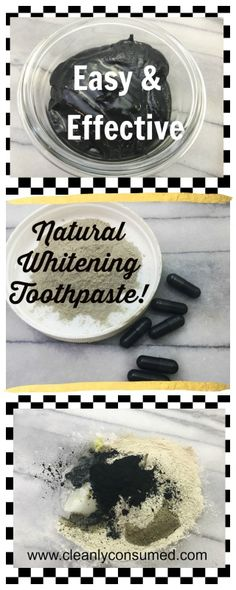 Natural Whitening Toothpaste- that really works! Safe, Effective and Easy! Organic Skin Care, Natural Skin Care, Natural Beauty, Activated Charcoal Toothpaste, Beauty Routine Checklist, Coconut Oil For Teeth, Sugar Scrub Recipe, Active, Beauty Recipe