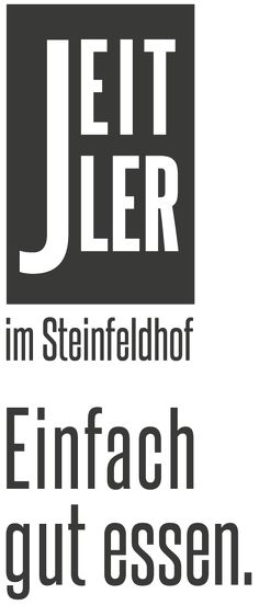 Jeitler im Steinfeldhof - Einfach gut essen. North Face Logo, The North Face, Company Logo, Logos, Eating Well, Stones, Simple, The Nord Face, Logo