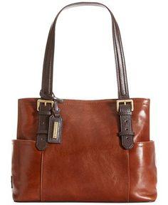 91bf162ee8b7f0 Tignanello Classic Beauty Vintage Leather Shopper & Reviews - Handbags &  Accessories - Macy's