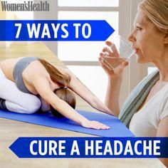 7 Ways To Cure a Headache