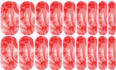 Red White Lace --- My custom Jamberry NAS design. If interested message me. $25 a sheet (includes the setup fee)
