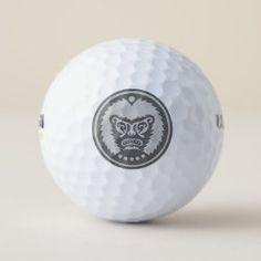 Golf Ball STONE-EYED GOD Gifts For Golfers, Golf Gifts, Presents For Dad, Gifts For Dad, Hole In One, Unusual Gifts, Golf Ball, Red Wine, Balls