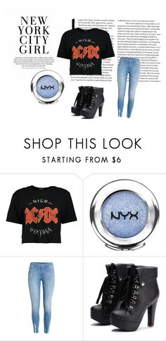 """""""Untitled #255"""" by tori-carter ❤ liked on Polyvore featuring Boohoo, NYX and nyx"""
