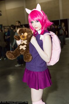 Annie Hastur and Tibbers (League of Legends) #PAXSouth2015 #DTJAAAAM