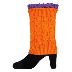 Gameday Boot Cuff Orange/Purple | underthecarolinamoon.com