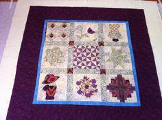 My first ever quilt sampler