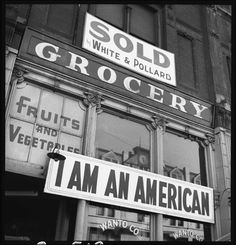 Dorothea Lange, Oakland, California, March 13, 1942. Courtesy National Archives and Records Administration.