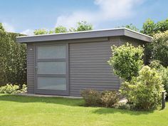 Abri de jardin en bois Côte d'Azur Backyard Studio, Shed Design, Pergola, Garage Doors, Bmw I3, Outdoor Decor, Space, Home Decor, Garden