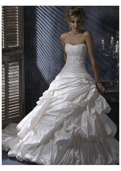 #Strapless Wedding Dresses
