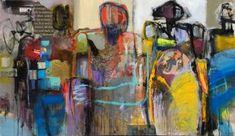 """Saatchi Art Artist Allen Wittert; Painting, """"Standing together"""" #art"""