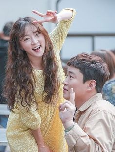 """Ahn Jae Hong and Song Ha Yoon play the couple who has been together for six years in """"Fight For My Way. Korean Actresses, Korean Actors, Actors & Actresses, Fight My Way Kdrama, Korean Celebrities, Celebs, Kim Book, Doctor Stranger, Park Seo Jun"""
