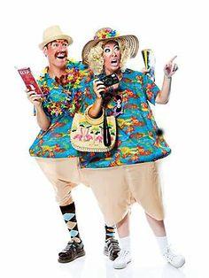 Tacky Tourists Adults Costume