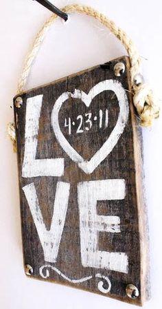 Personalized Wedding Sign Wood Custom Wedding Decor by MangoSeed