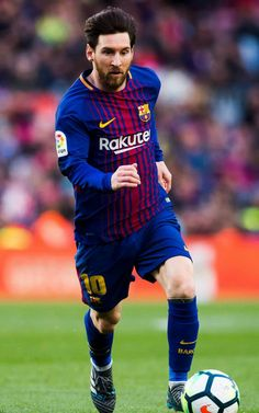279097ec4e556 Lionel Messi of FC Barcelona conducts the ball during the La Liga match  between Barcelona and Athletic Club at Camp Nou on March 2018 in Barcelona