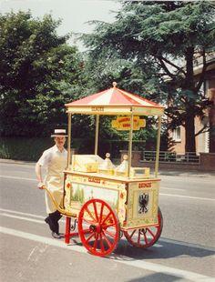 This cute little ice cream cart we saw in paris. | PARIS | Pinterest