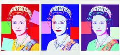 The Queen poster.