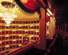 Teatro alla Scala, Milan  Vintage Gothic Romance setting