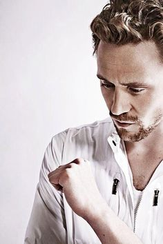 Tom Hiddleston. This sexy beast of a man.