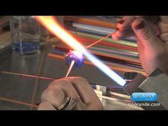 Flameworked Beads w Eleanor Macnish - Hollow Bead - YouTube