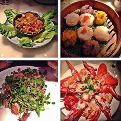 Ainda sobre o Hakkasan.... vale a pena pedir vários pratos e dividir entre todos da mesa...  by entretacasecheckins