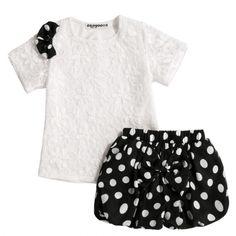 ZEAGOO Cute Little Baby Girls Bow Crochet Lace T-shirt Polka Dot Elastic Waist Shorts Outfit Set http://www.wholesalebuying.com/product/zeagoo-cute-little-baby-girls-bow-crochet-lace-t-shirt-polka-dot-elastic-waist-shorts-outfit-set-173965?utm_source=pin&utm_medium=cpc&utm_campaign=ZYWB16