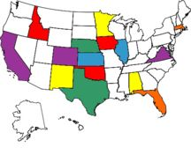what a random collection of states ive been to...