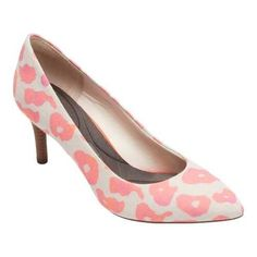 Women's Rockport Total Motion 75mm Pointy Pump Leo /Textile