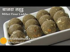 Bajra Atta Ladoo - Millet Flour Laddu Recipe - YouTube