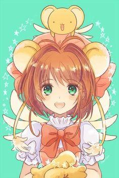 Ah que bonita se ve Sakura disfrazada de kero