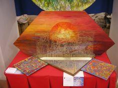 """Ipogeo dell'Annunziata anno 2005 """" la porta del sole"""" Pitto-scultura anno 1986-2000"""
