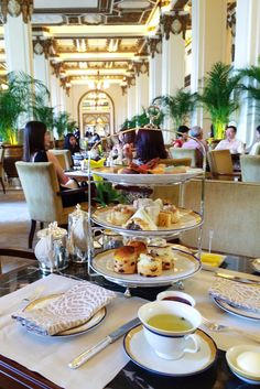 tea at the peninsula in hong kong