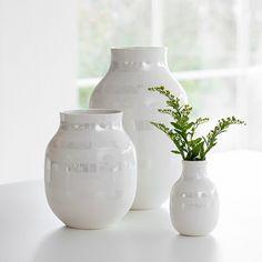DESIGNDELICATESSEN - Kähler - Omaggio - vase perlemor