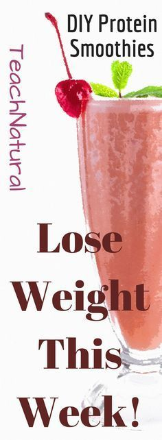Lose weight with these healthy, easy, inexpensive smoothies and shakes.