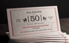 Really like the embossing used on 'Palomino' corporate identity work by SuperBigCreative - SBC website is pretty awesome as well!