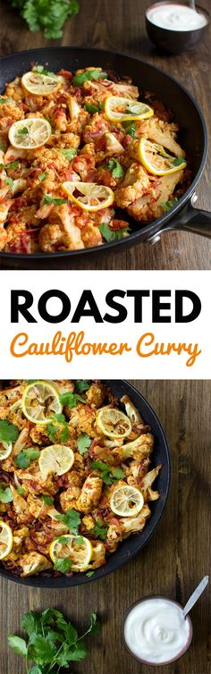 Roasted Cauliflower Curry: sweet, spicy and vegan - a delicious fusion of Pakistani spices | hurrythefoodup.com